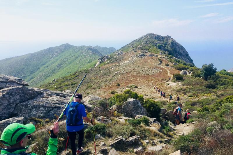 GTE Grande Traversata Elbana Isola Elba Elba Outdoor escursioni